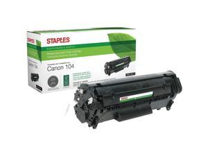 791262 7833A001AA Staples Remanufactured Black Toner Cartridge Canon S35
