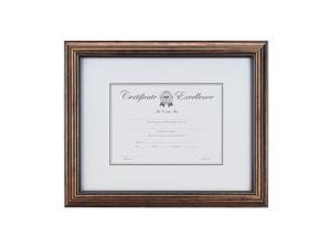 Staples Plastic Certificate Frame Bronze (53121/20189) 810921