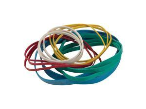 Staples Economy Rubber Bands Assorted Sizes and Colors 511378