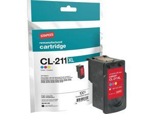 TRU RED Canon CL-211XL (2975B001) Color ufactured High Yield Ink Cartridge