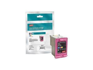 TRU RED ufactured Ink Cartridge Replacement for HP 61XL (Tri-color)