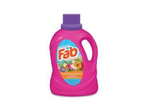 Fab® Scented Laundry Detergent, Sunset Symphony, 60 oz Bottle, 6/Carton FABBB34