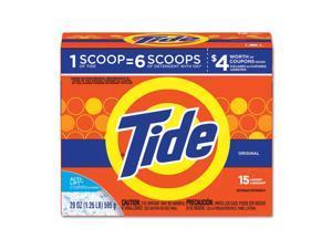 Tide® Powder Laundry Detergent, Original Scent, 20 oz Box, 6/Carton 81244