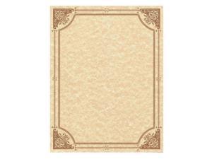Southworth® Parchment Certificates  Vintage  8 1/2 x 11  Copper w/ Copper Border