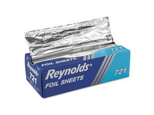 Reynolds Wrap Pop-Up Interfolded Aluminum Foil Sheets 12 x 10 3/4 Silver 500/Box