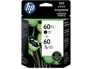 HP 60XL Black High-Yield & 60 Tri-Color Ink Cartridges 2-Pack (N9H59FN) 1789466