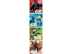 SandyLion Star Wars Saga Stickers 250 per Roll Assorted Colors 1787453