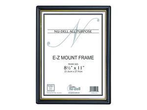 NuDell NuEZ Mount Plastic Certificate Frame (10960) 709964