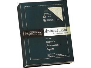 Southworth Antique Laid ID Paper, 24 lbs, 8.5 x 464C