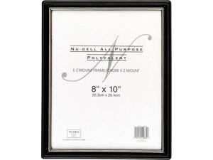 Nu-Dell E-Z-Mount Frame, 10x8, Glass Face 10880