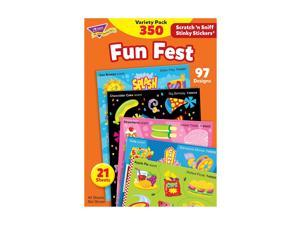 Trend Enterprises Trend Stinky Stickers Variety Packs, Fun Fest T83906M