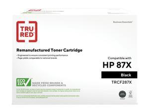 TRU RED HP 87X (CF287X) Black ufactured TRCF287X