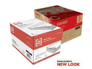 TRU RED 8.5 x 11 Printer Paper, 20 lbs., 92 54052/TR56959
