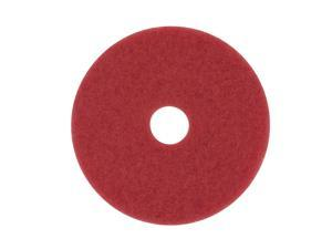 3M Low-Speed, Red Buffing Pad 5100, 11, 5/Case 510011