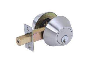 Tell Manufacturing Tell Double Cylinder Deadbolt, Stainless Steel CL100178
