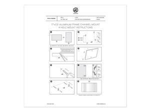 U Brands 4N1 Magnetic Dry Erase Combo Board, 24 x 18, White/Natural 3890U0001