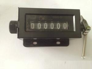 D94-S 6 Digits Mechanical Pull Stroke Counter Black Casing
