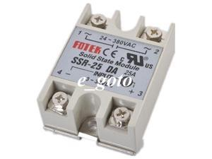 SSR-25DA ssr solid state relay DC-AC one-phase Relay FOTEK ssr 20A minitype