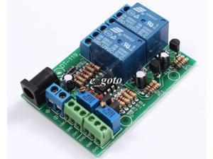 DC 12V 2-Channel Voltage Comparator Precise LM393 Comparator Module