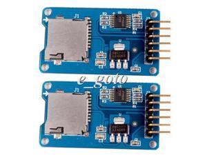 2pcs Micro SD SPI Storage Board TF Card Memory Shield Module For Mega Arduino
