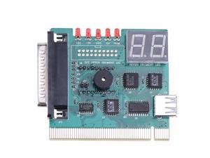 LPT 25Pin / PCI Motherboard Diagnostic Card 2 Digit Analyzer Tester POST Card for PC / Parallel Port of Laptop