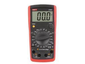UT601 UNI-T Digital Inductance Capacitance Meter Ohmmeter Capacitor Resistor Diode hFE Tester