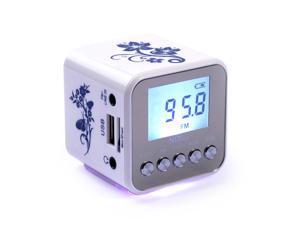 Foxnovo TT-032A Mini Digital Speaker MP3 Music Player with FM Radio /TF Card