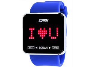 Foxnovo 0950 Waterproof Touch Screen Boys Girls Sport Casual LED Digital Wrist Watch ...