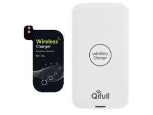 Foxnovo Qifull QT10 Qi Wireless Charger & Receiver Set ...