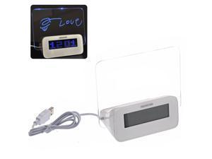 Foxnovo Highstar HSD-1140C Creative 4-port USB 2.0 Hub Erasable Memo Board LED