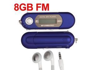 Foxnovo Portable 8GB 1.3-inch LCD Screen Digital MP3 Player USB Flash Drive ...
