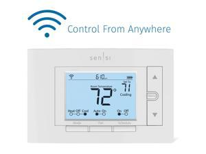 Emerson Sensi Wi-Fi Smart Thermostat for Smart Home with Amazon Alexa and Apple HomeKit Compatibility
