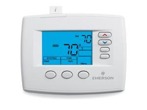 "Emerson Blue 4"" Universal Non-Programmable Thermostat 1F83-0422"
