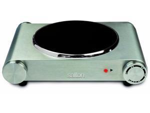 Salton Single Burner Infrared Cooking Range |HP1502| 1200W Stainless Steel