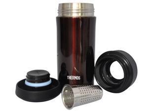 Thermos Thermal Tea Tumbler |TCMK350CBW| 350mL, with Tea Filter, Deep Red