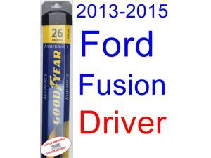2017 Ford Fusion Wiper Blade Driver Goodyear