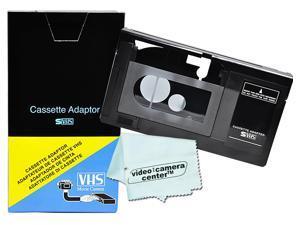 Motorized VHS-C Cassette Adapter for JVC C-P6U Panasonic PV-P1 + VCC Micro-Fiber S TO Walmart  *ISAAC NOTE*