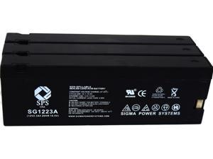 SPS Brand  12V 2.3 Ah (Terminal A)  Replacement for  Canon CR-30A (Camcorder Battery) ( 3 PACK)