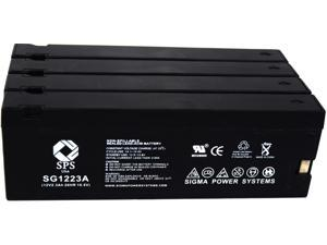SPS Brand  12V 2.3 Ah (Terminal A)  Replacement for  Canon CR-30A (Camcorder Battery) ( 4 PACK)