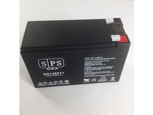 12v 8Ah Powervar ABCEG401-11 UPS Replacement Battery  SPS BRAND
