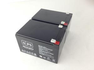 12v 12Ah APC SMT1000US  UPS Replacement Battery (2 PACK) SPS BRAND