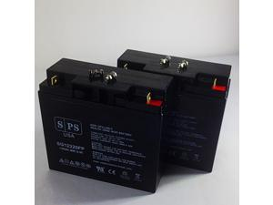 12v 22Ah APC SmartUPS SUA5000R5TXFMR  UPS ( upgrade from 12V 18Ah) Replacement Battery (2 PACK) SPS BRAND