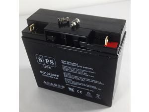 12v 22Ah APC Smart-UPS 1500VA USB & SER (SUA1500)  UPS ( upgrade from 12V 18Ah) Replacement Battery  SPS BRAND