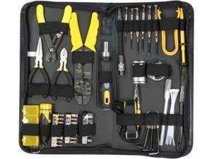 58 Pcs Professional PC Computer Tech Electrician Handyman Repair DIY Tool Kit