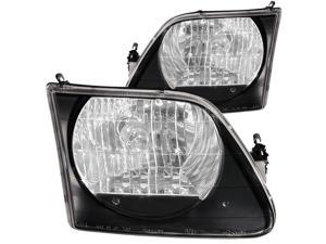Anzo USA 111083 Ford F-150 Black Headlight Assembly - (Sold in Pairs)