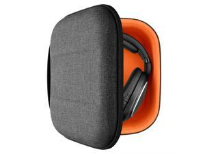 Geekria UltraShell Headphone Case for Sennheiser HD 599 SE, HD598 CS, HD280PRO, HD 518, HD599SE Headphones - Replacement Large Hard Shell Travel Carrying Bag with Space for Cable, AMP, Accessories