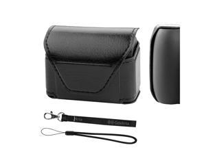 Geekria Earbuds Pouch Case for Jabra Elite Active 65t, Truly Wireless Noise Canceling Earphone Travel Bag, Jabra Elite 65t Portable Earbud Box Pouch Protector/Mini Storage Carrying Case (Black)