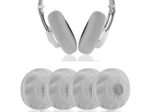 Geekria 2 Pairs Sweater Headphone Covers / Stretchable Knit Fabric Ear Pads Protectors,  Fits 4.33'' - 5.51'' Inches Headset Earpads, Likes AKG K240 STUDIO, K240 MKII, K702, K712 Headphones (Grey)