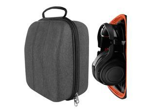 Geekria UltraShell Gaming Headset Case for Razer ManO'War 7.1, Sennheiser GSP 600, 500, PC 373D, ASTRO A20, A10, Sony PlayStation Gold, Platinum Headset and More - Headset Hard Shell Travel Bag