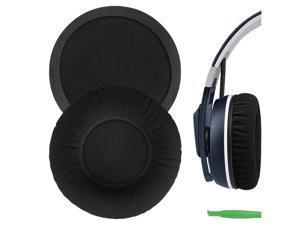 Geekria Comfort Velour Replacement Ear Pads for Sennheiser Urbanite On-Ear Headphones Earpads, Headset Ear Cushion Repair Parts (Black)